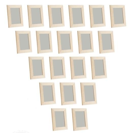 20x albrunna foto bilderrahmen 10x15 natur massiv holz kiefer ikea neu ovp ebay. Black Bedroom Furniture Sets. Home Design Ideas