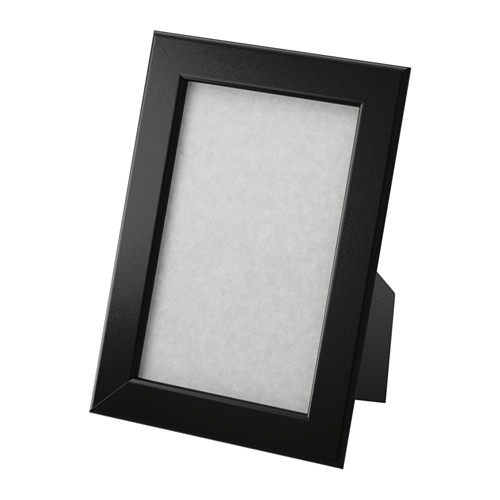 fiskbo ikea picture photo frame black 10x15 picture frame decoration living ebay. Black Bedroom Furniture Sets. Home Design Ideas