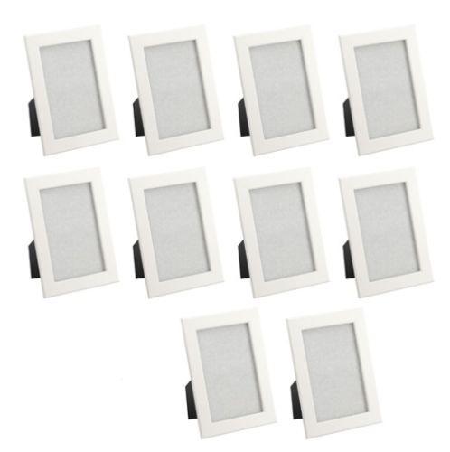 10x fiskbo set ikea bilderrahmen wei 13x18 foto wand dekoration wohnen neu ovp ebay. Black Bedroom Furniture Sets. Home Design Ideas