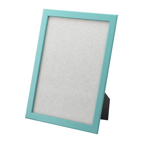 fiskbo ikea bilder foto rahmen blau 21x30 din a4 bilderrahmen limited wohnen ebay. Black Bedroom Furniture Sets. Home Design Ideas