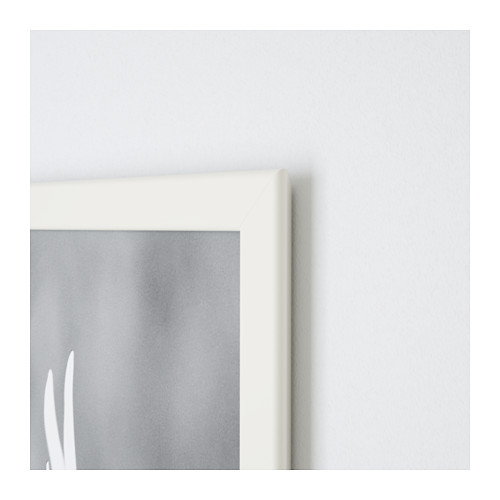 fiskbo ikea bilderrahmen wei weiss 21x30 din a4 foto wohnen dekoration neu ovp ebay. Black Bedroom Furniture Sets. Home Design Ideas