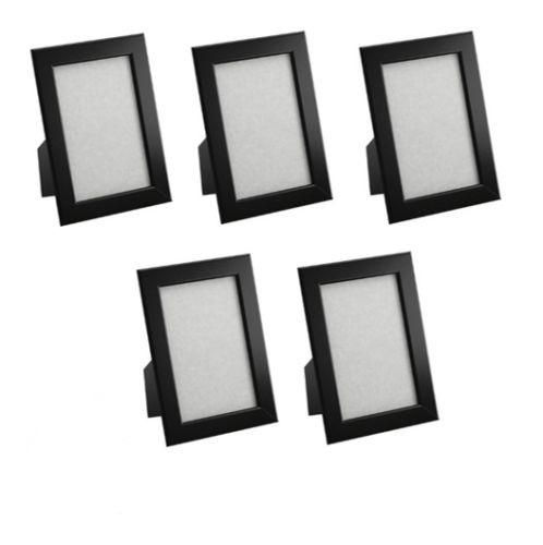 5x st ck fiskbo ikea bilder foto rahmen schwarz black 10x15 bilderrahmen trauer ebay. Black Bedroom Furniture Sets. Home Design Ideas