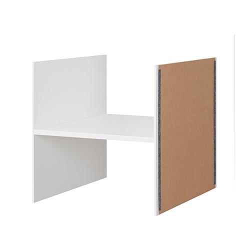 kallax ikea einsatz mit 1 boden wei 33x33 regal t re holz fach wohnen neu ebay. Black Bedroom Furniture Sets. Home Design Ideas