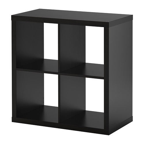Kallax 77x77 Schwarzbraun Ikea Regal Wohnen Raumteiler Expedit