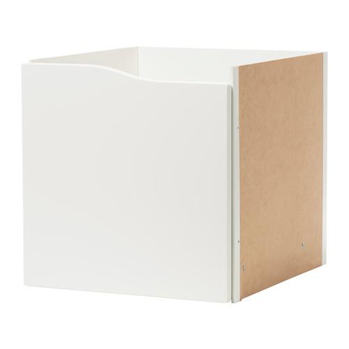 kallax ikea einsatz mit t r ohne griff wei 33x33 regal t re holz fach wohnen ebay. Black Bedroom Furniture Sets. Home Design Ideas
