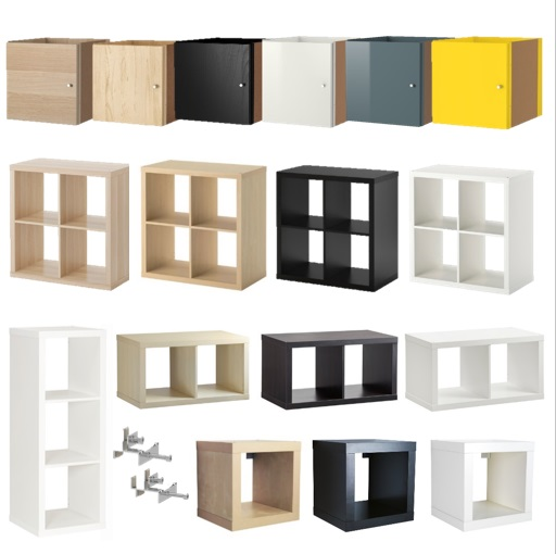 kallax regal 42x42 77x42 77x77 42x111 einsatz t re schublade boden linnmon 33x33 ebay. Black Bedroom Furniture Sets. Home Design Ideas