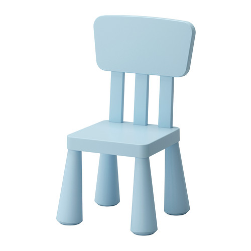 Ikea Kinderstühle mammut ikea kinderstuhl hell blau drinnen draußen sitz möbel garten