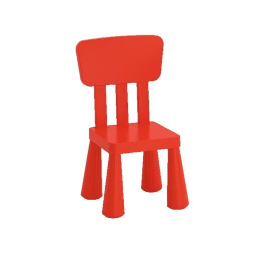 mammut ikea kinder tisch stuhl set rot drinnen drau en sitz m bel garten neu ebay. Black Bedroom Furniture Sets. Home Design Ideas