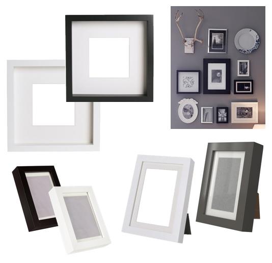 ribba ikea 1er 10er set bilderrahmen 10x15 13x18 23x23. Black Bedroom Furniture Sets. Home Design Ideas