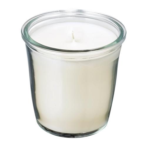 Ikea Kerzen Im Glas smatrevlig ikea duft kerze im glas 7 0cm 20std vanille meersalz