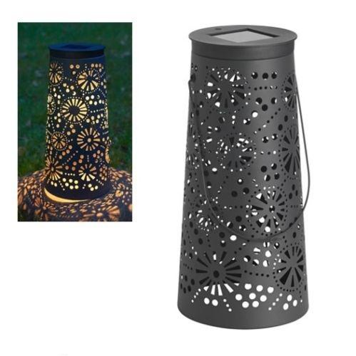 solvinden ikea solare led giardino trombette cono lanterna. Black Bedroom Furniture Sets. Home Design Ideas
