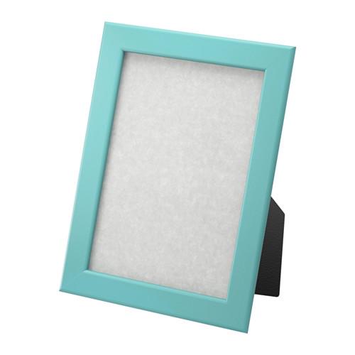 fiskbo ikea bilder foto rahmen t rkis blau 13x18 bilderrahmen deko wohnen ebay. Black Bedroom Furniture Sets. Home Design Ideas