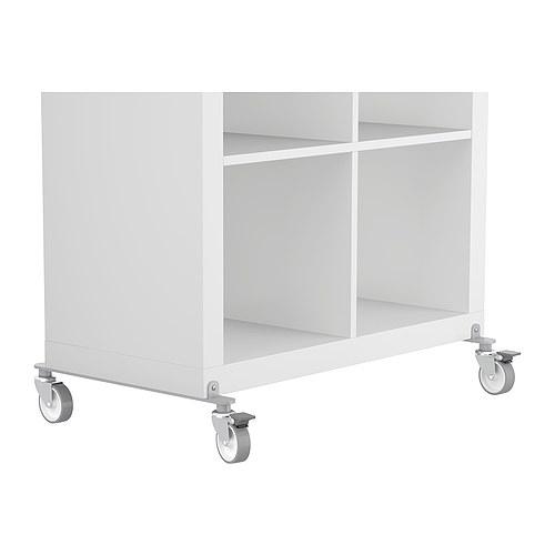 kallax ikea zubeh r rollen silber m bel wohnen regale raumteiler neu ebay. Black Bedroom Furniture Sets. Home Design Ideas