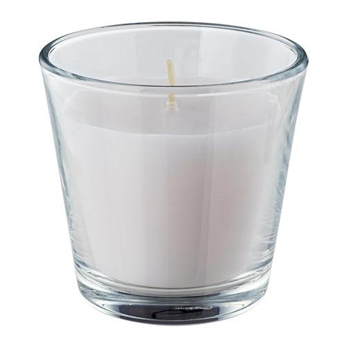 Ikea Kerzen Im Glas omtalad ikea duft kerze im glas 7 0cm 20std power weiß mit zartem