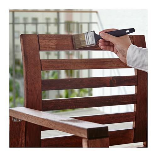 varda holzlasur drau en ikea braun streichen runnen garten fliesen m bel 500ml ebay. Black Bedroom Furniture Sets. Home Design Ideas